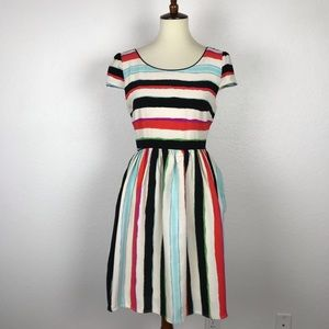 Anthropologie Maeve Peralta Stripe Dress